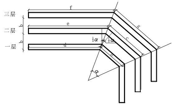 以下是图解桥架弯头做法:   一,单个弯头的制作方法